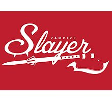 Vampire Slayer - RED Photographic Print