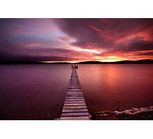 Walk the plank Photographic Print