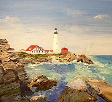 Maine Lighthouse by impermanently