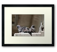 Rest For The Wicked Framed Print