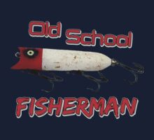 Old School Fisherman T-shirt by Fl  Fishing