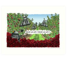 The Orchards of Skaro Art Print