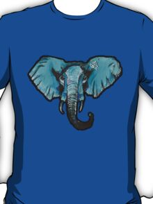 TheBlueElephant large T-Shirt