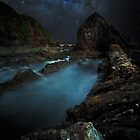 Razor Back By Moon Light by Rodney Trenchard