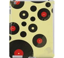 Vintage Vinyl Records Music DJ Retro Grunge T-Shirt! iPad Case/Skin