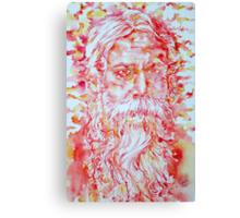 TAGORE - watercolor portrait Canvas Print