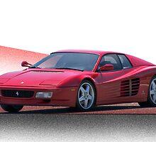 1987 Ferrari Testarossa   by DaveKoontz