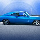 1969 Dodge Charger R/T 'Flex'n Muscle' by DaveKoontz