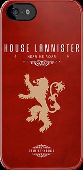 House Lannister iPhone Case by liquidsouldes
