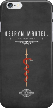 Oberyn Martell iPhone Case by liquidsouldes