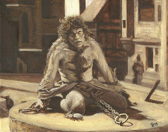 The Hunchback of Notre Dame (Lon Chaney) by Conrad Stryker