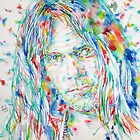 NEIL YOUNG - watercolor portrait by lautir