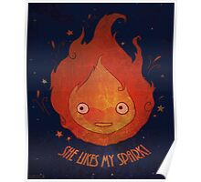 She Likes My Spark! Poster