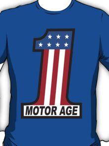 Motor Age American Flag 1 T-Shirt