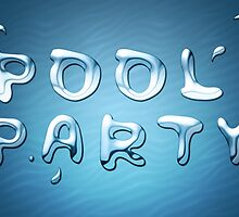 pool party splash by maydaze