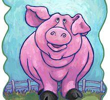 Animal Parade Pig by Traci VanWagoner