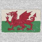 Welsh Flag by FrozenLip
