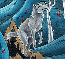 Wolf by woodwaterstone