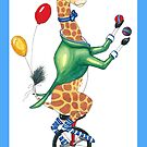 Circus Giraffe by Lynn Wright