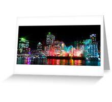Brisbane City of Lights Greeting Card