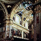 Transept of church Monte Cassino 198403190024 by Fred Mitchell