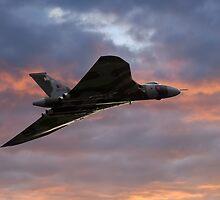 Avro Vulcan Bomber XH558 by © Steve H Clark