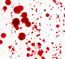 Blood Spatter 1 by jenbarker