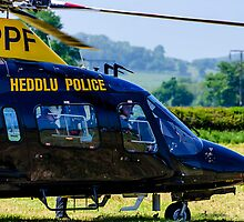 police helicopter by clayton  jordan