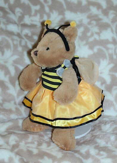 Bumble Bee Teddy by AnnDixon