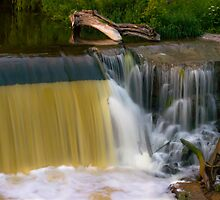 Grafton Dam and Waterfall by James Meyer