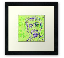 """""""Portrait  of a Known Man"""" Framed Print"""