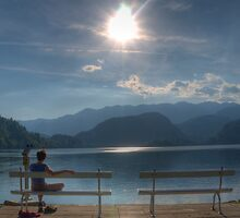 Basking in the Sun, Lake Bled - Slovenia by jcjc22