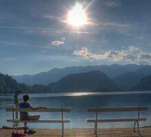 Basking in the Sun, Lake Bled - Slovenia by jcjc22
