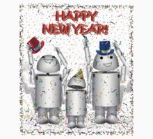 HAPPY NEW YEAR! from Cute Robo-x9 Family by Gravityx9
