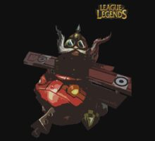 League of Legends - Corki Red Baron by JellyBeanie
