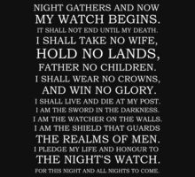 The Night's Watch Oath 1 by Ben Robins