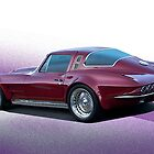 1964 Corvette Stingray I by DaveKoontz