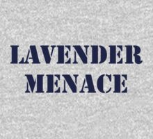 Lavender Menace ( to benefit IYG) Kids Clothes
