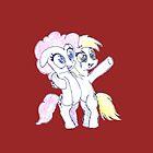 Derpy & Pinkie by RainboomDash