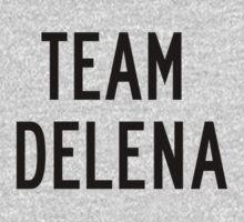 Team Delena (black) by Belle333Black