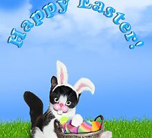 Cute Easter Kitty by Gravityx9