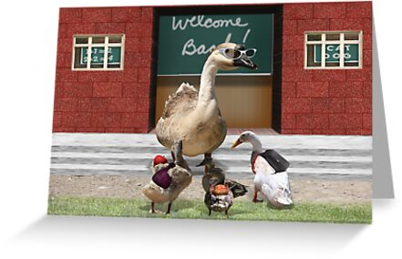 Back to School, my little ducklings! by Gravityx9