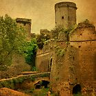 Castle of Saint or Sinner?-Nepi, Italy by Deborah Downes