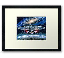 The Enterprise Framed Print