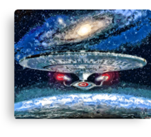 The Enterprise Canvas Print
