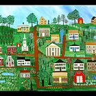 Sandwich, Massachusetts Commissioned Painting by Mike Filippello