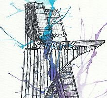 Stark Tower by rhonnnnie
