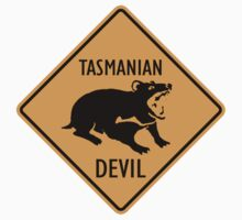 Tasmanian Devil Sign by SignShop