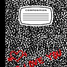 i love you composition book by maydaze