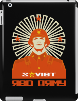 SOVIET RED ARMY SOLDIER by madeofthoughts